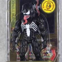 2styles 17cm Spider Man Action Figure Venom Spride Collection Model Toys Play Arts Kai Figure Amazing Spiderman Play Arts Venom