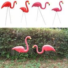 2 шт. открытый Пластик моделирование искусственный Фламинго украшения для сада фестиваль вечерние свадебные вилла Садоводство украшения, Декор