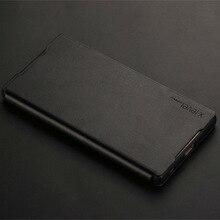 D'origine X-niveau Flip Smart Cover PU + TPU Cas En Cuir pour Sony Xperia Z5 plus Cas, téléphone Couverture de Cas pour Sony Xperia Z5 prime