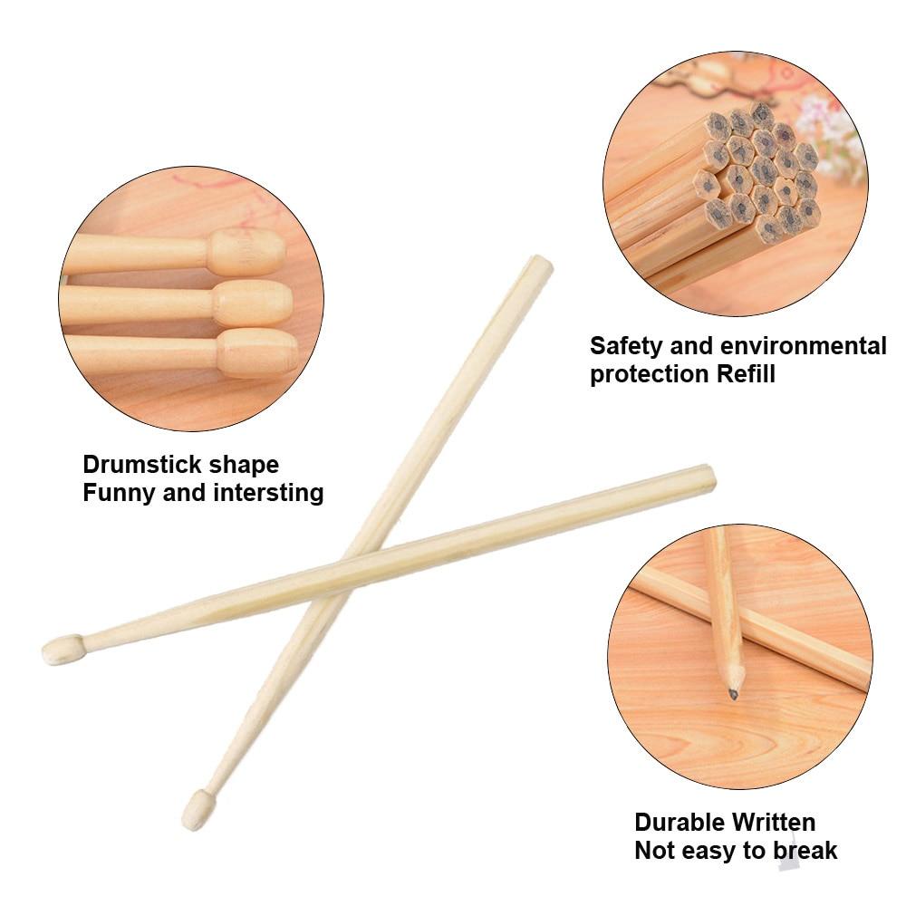 Wood Drumsticks Pencil