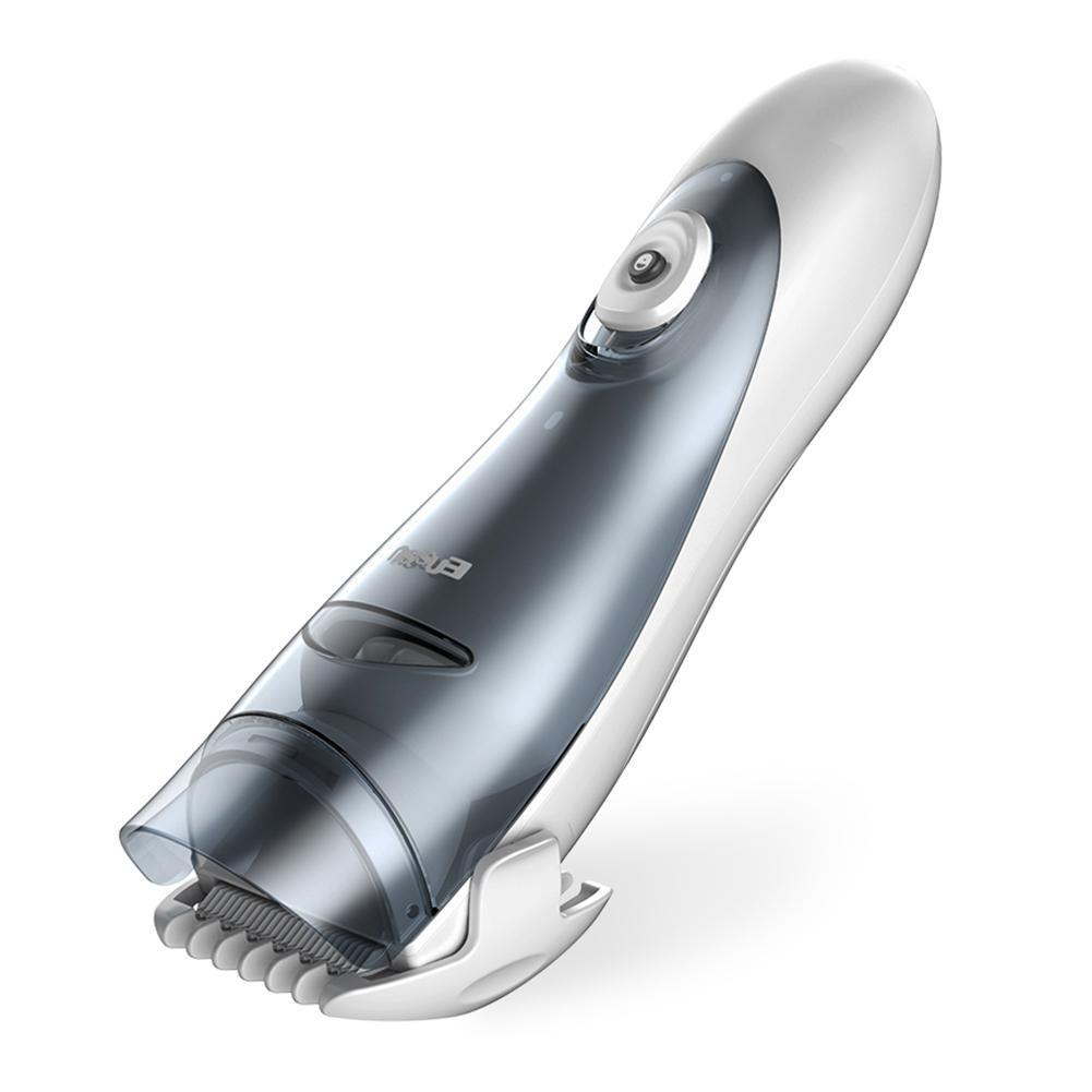 Enssu Waterproof Automatic Suction Hair Clipper Safety Electric Baby Hair Clipper Baby Hair Care Cutting Home-use