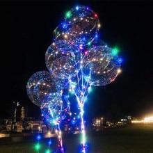 20 дюймов 36 дюймов светящийся светодиодный шар, прозрачные круглые декоративные пузырьки, декор для дня рождения, свадьбы, светодиодный шар, Рождественский подарок