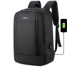 цена на male Multifunction USB charging backpacks fashion business casual tourist anti-theft waterproof 15.6 inch Laptop men backpack