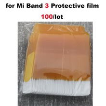 Screen Protective film for Xiaomi NFC Mi Band 3 Wrist Protective film for Xiao Mi Band 3 Bracelet Films for Xiaomi Miband3 Film