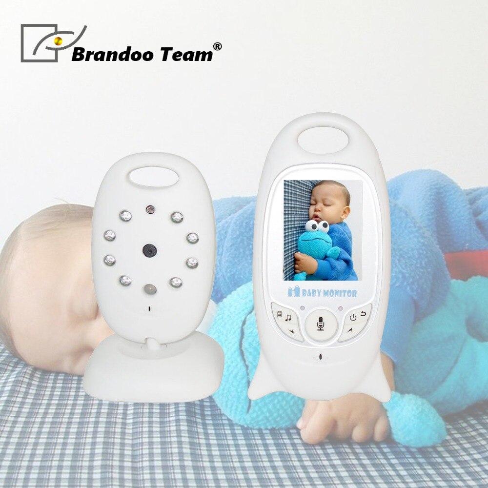 Moniteur bébé sans fil 2 pouces BeBe Baba Babysitter électronique Radio vidéo nounou caméra Vision nocturne surveillance de la température