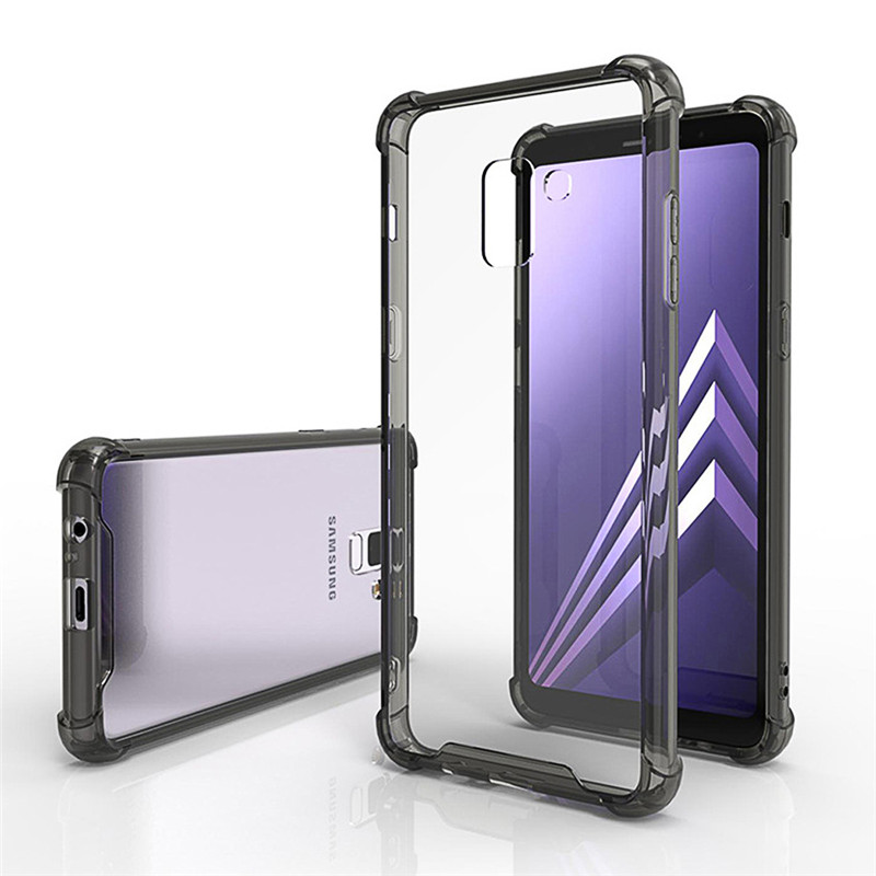 For Samsung Galaxy S10 Plus Lite Hard Acrylic Case PC Anti Shock Clear Shockproof Phone Back