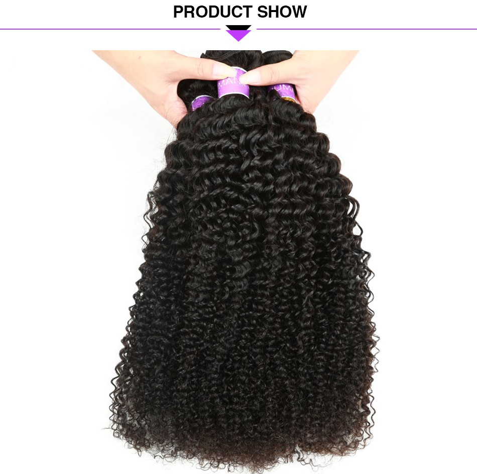 kinky curly hair bundles