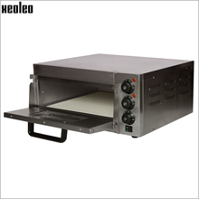 XEOLEO Pizza oven machine Pizza baking oven Electric ovens Commercial Stainless steel Pizza baker machine 14 inch ~350 degree automatic stainless steel 4 trays hot air convection oven kitchen baking oven electric oven commercial 60l 220v 4500w