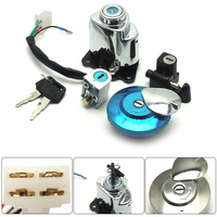 For Honda Shadow Steed VLX 600 ACE750 1 Set Ignition Switch Fuel Cap Steering Lock Magna 250 Shadow VLX 600 1995 1998 2008 2013