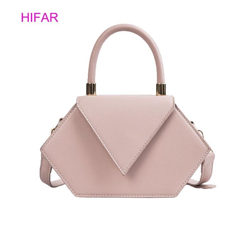 e241926518cc 2019Hot Роскошная брендовая Сумочка модные сумки для женщин вечерние сумки  для женщин Нерегулярные Пентагон сумки для
