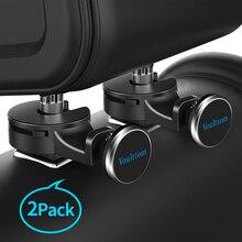 Voulttom 2pc/lot Tablet Holder for Car Headrest hanger back seat magnet for iPad tablet mobile Phone halterung car tablet holder