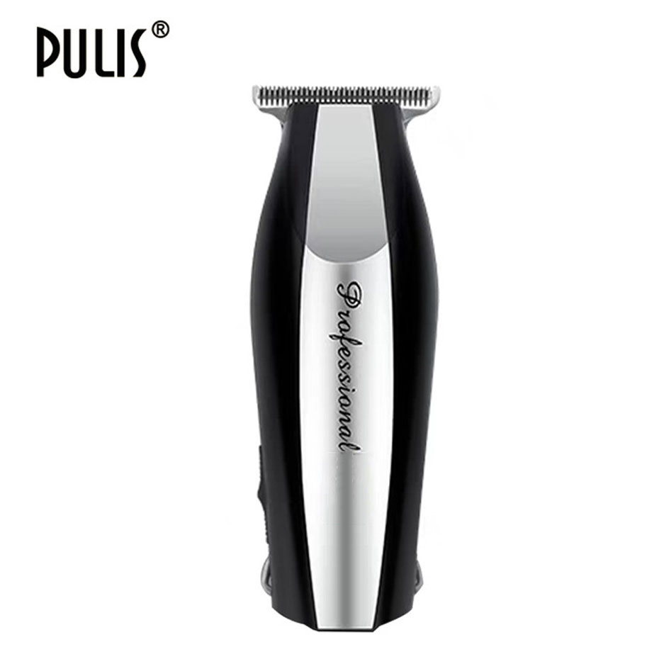 PULIS Hair Clipper Professional Electric Hair Trimmer 0.1mm Blade 100-240V Rechargeable Bald Head Shaving Machine Personal Care