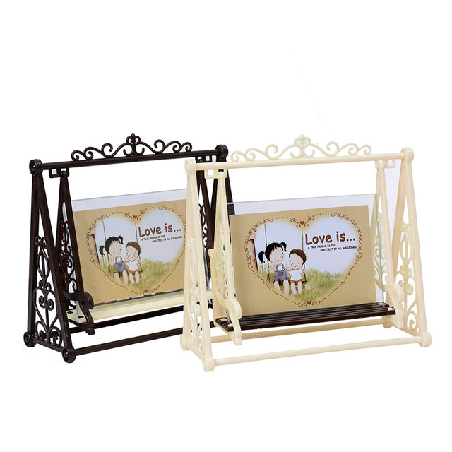 7inch photo frame picture frames new design swing shape home wedding 7inch photo frame picture frames new design swing shape home wedding decoration novelty gift junglespirit Gallery