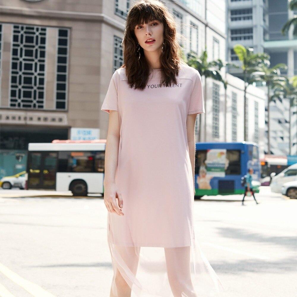 Vero Moda estilo de verano de gasa superposición de carta vestido de fiesta de verano | 318161507 |