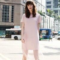 Розовое платье с фатином от Vero Moda