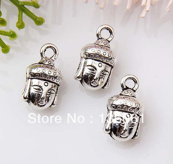 5 x tibétain argent amour et être aimé charme pendentif finding bead jewellery making