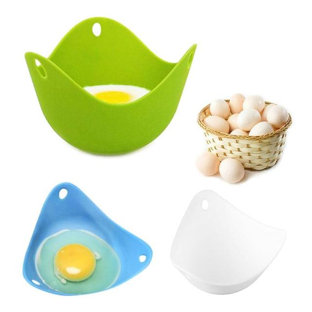 1Pc Silicone Egg Cooker Poacher Poaching Pods 3