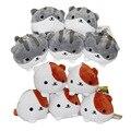 10 Шт./лот Neko Atsume Дворе кошка плюшевые игрушки куклы кулон 10 см