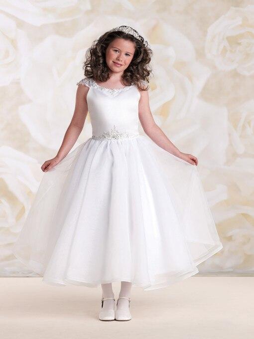 Fashion NEW Wedding Party Formal   Flower     Girls     Dress   baby Pageant   dresses   Birthday Communion Toddler Kids TuTu   Dress   For Wedding