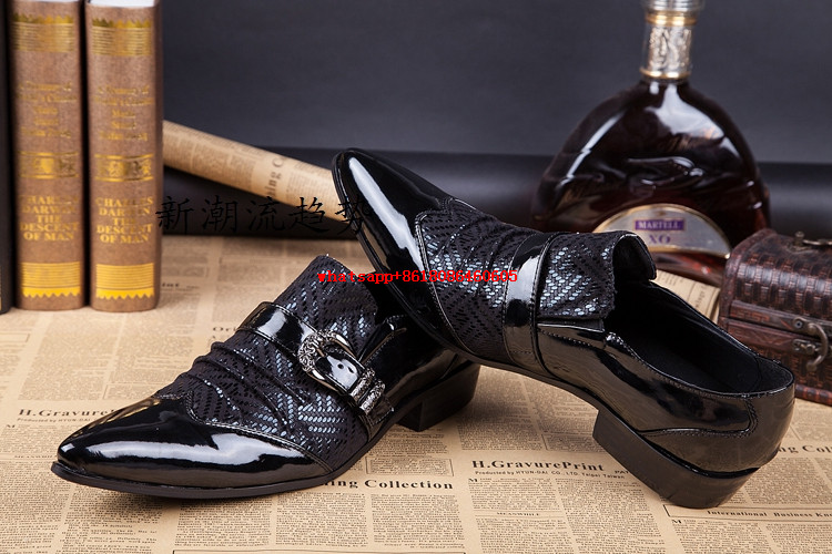 Italian mens shoes black genuine leather pointy loafers classic mens dress shoes slip on formal shoes men flat shoe lasts