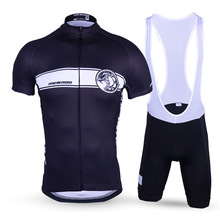 Men's Black Cool Mechanical Tyrannosaurus Cycling Sets Quick-Dry Short Sleeve Bike/Bicycle Jersey sets Breathable Ropa Ciclismo