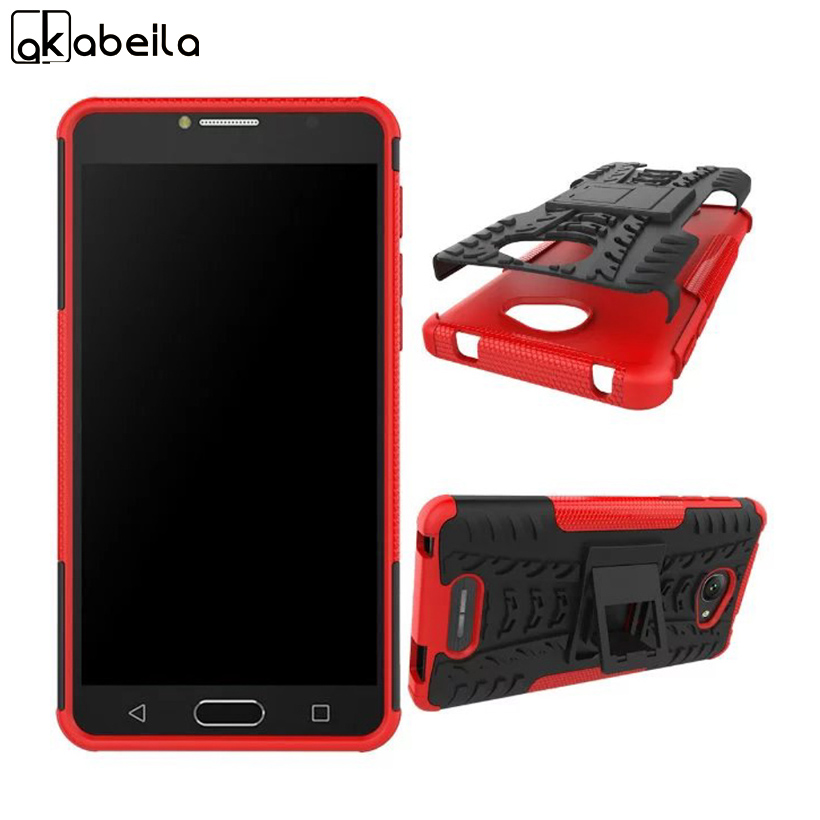AKABEILA Phone Cases Covers For Alcatel OneTouch POP 4S Case TPU+PC Hybrid Cover 5095Y OT-5095K 5095K 5095B 5095L 5.5 inch Bags