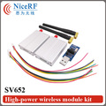 2pcs/lot SV652 500mW 433/470MHz TTL Interface 3km Distance Radio Module| Wireless Data Transceiver Module