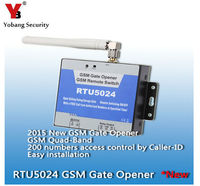 RTU5024 GSM Gate Opener Relay Switch 200 Users Wireless Door Opener By Free Call SMS Remote
