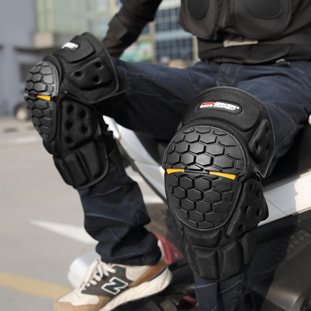 New Motocross Knee Protector Brace Protection Elbow Pad Kneepad Motorcycle Sports Cycling Guard Protector Gear Durable