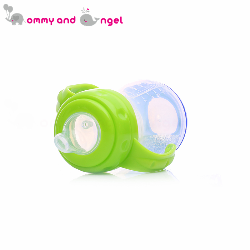 MOMMY AND ANGEL Calssic Boy&Girl Closer to Nature Fiesta Bottle Sippy Cup for Kid Straw Feeding Bottle (3 Colour,270ml,ABE/8096)
