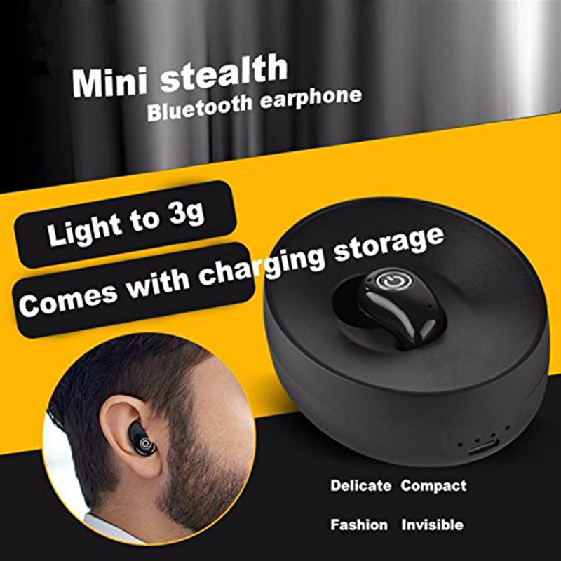 Original S600 Mini Wireless Earphone Bluetooth 4.1 Stereo Hands Free Headset with 500mAh Charging Box for iPhone Xiaomi P30 2017 scomas i7 mini bluetooth earbud wireless invisible headphones headset with mic stereo bluetooth earphone for iphone android