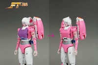 Fanstoys Rouge Arcee FT24 FT 24 Transformation Action Figure Robot Kid Toys Christmas Gifts