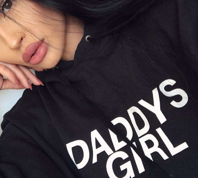 Daddys Girl Hoodie Women Sexy Hoody Sweatshirts Fashion Clothing Autumn Style Long Sleeve Jumper Outfits Sweats