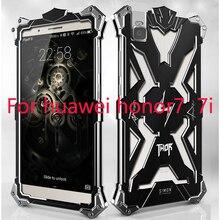 Simon Design Doom Metal Aluminum phone cases For huawei honor 7 7i case shockproof Luxury Tough Armor THOR IRON MAN Phone cover