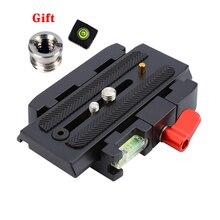 กล้องขาตั้งกล้อง Monopod P200 QR อลูมิเนียม + Quick Release Plate สำหรับ Manfrotto 501 500AH 701HDV 503HDV q5
