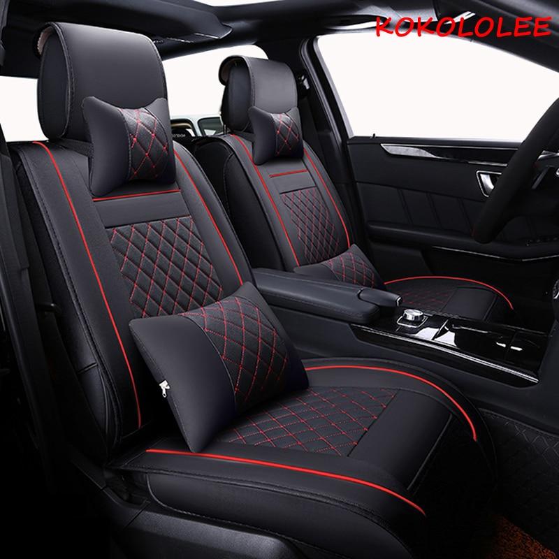 [kokololee] Universal car seat cover for toyota All models toyota rav4 camry corolla chr land cruiser prado premio car seats