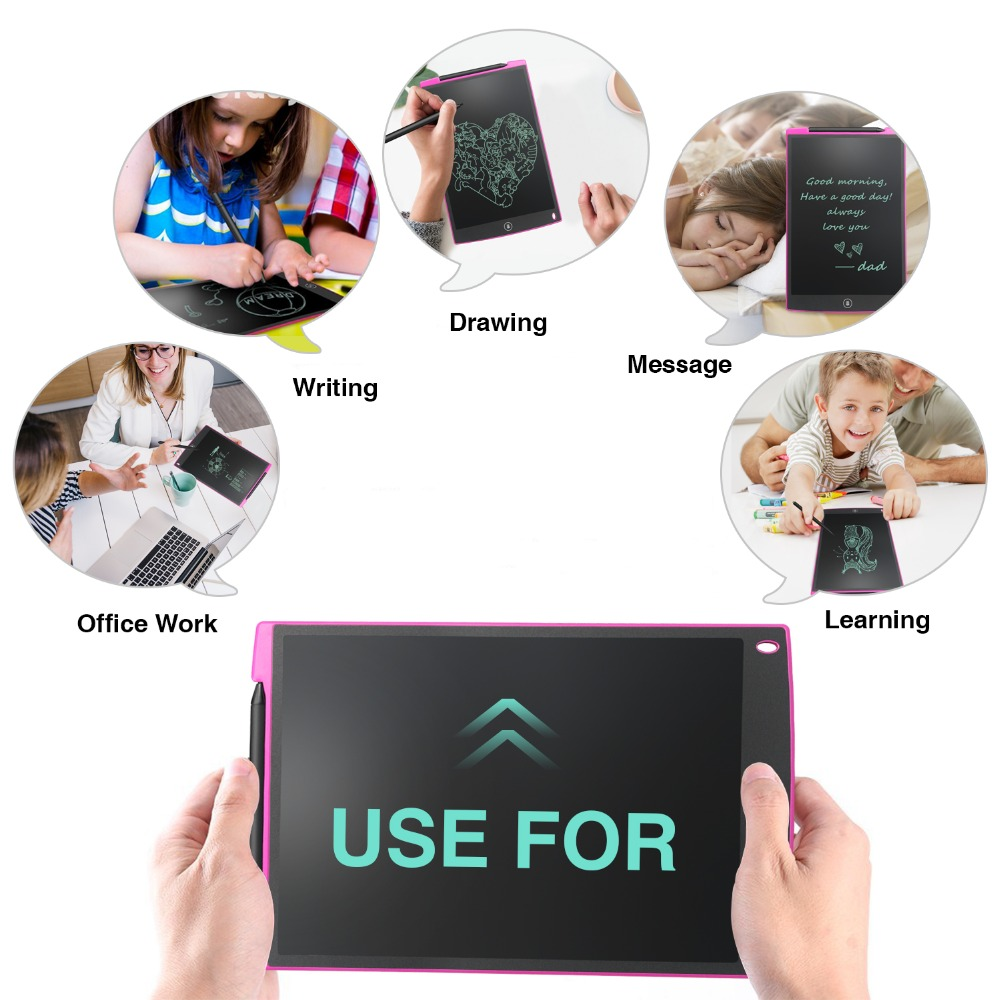 Tableta de escritura LCD NeWYeS 12 pulgadas 3