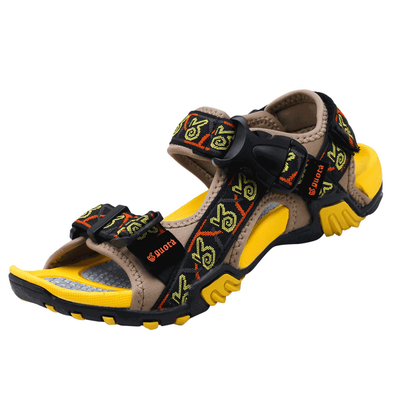 2019 summer new sports casual non slip buckle men 39 s sandals in Men 39 s Sandals from Shoes