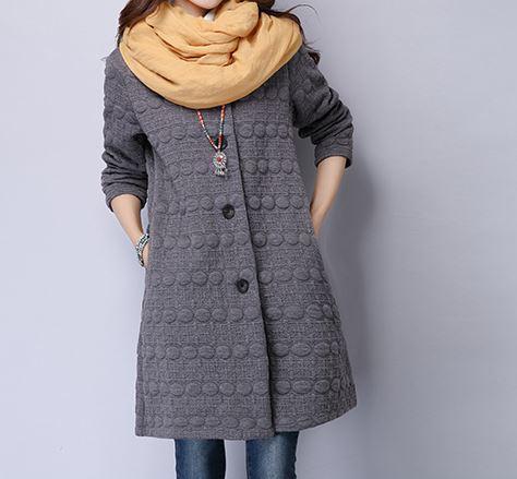 Плащ зима корейский краткая элегантный однобортный полный рукав о-образным шея-линии носить мода твердые карманы кнопка наряд