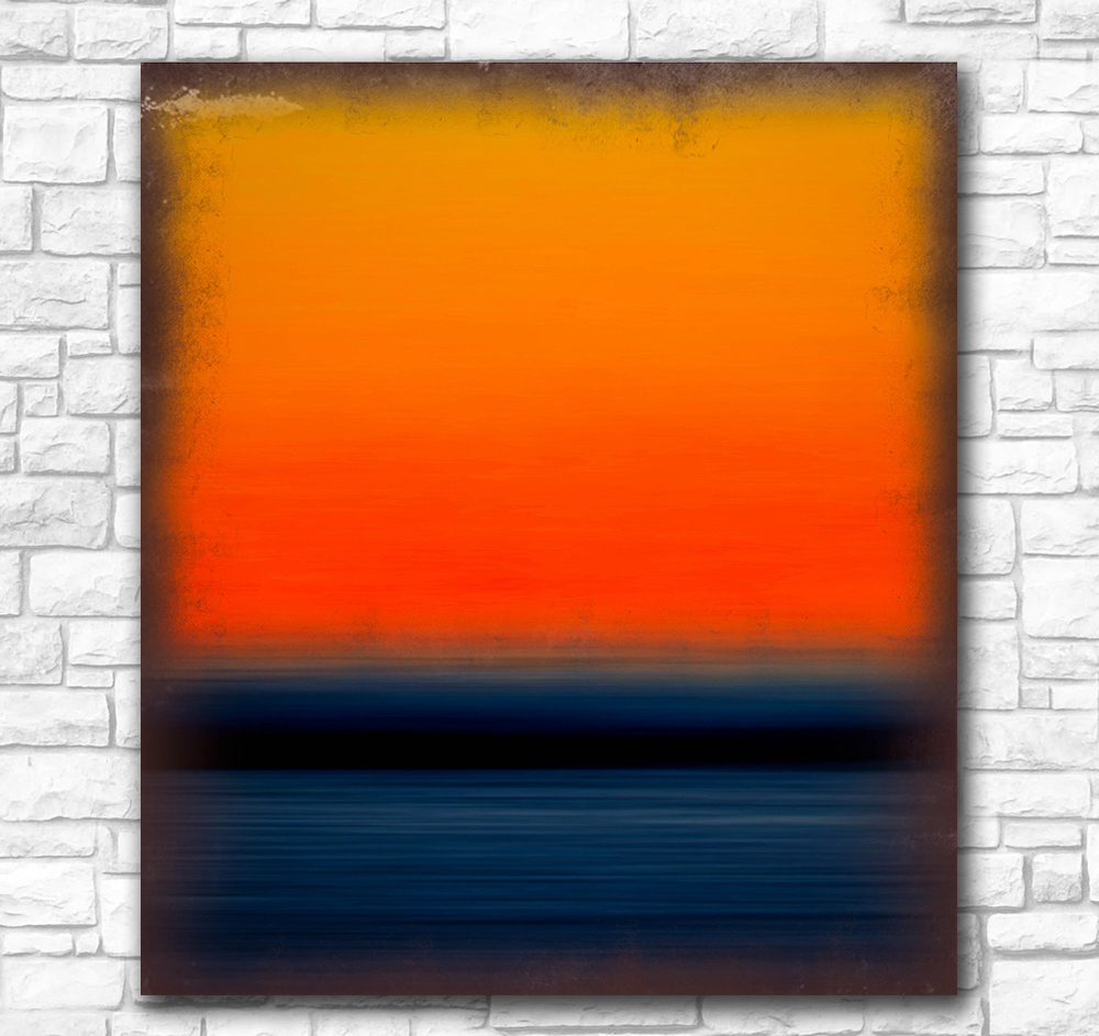 Mark Rothko Still Life Classical Style Frameless Unframed Oil Painting Canvas Waterproof airbrush square design art