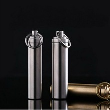 The new outdoor waterproof stainless steel warehouse, capsules sealed bottle, EDC cans convenient travel accessories