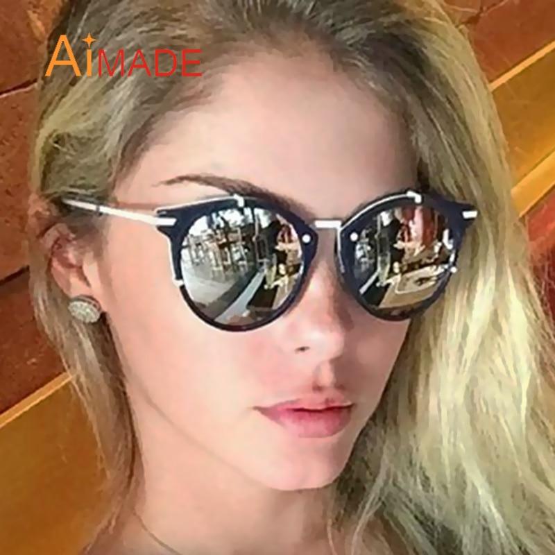 sale usa online designer fashion affordable price Aimade Rétro Marque Designer Petit lunettes de Soleil Rondes ...