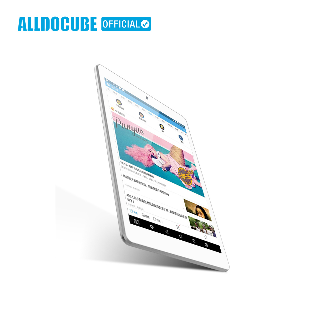 ALLDOCUBE iplay8 7.85 pollici Android6.0 MTK MT8163 Quad Core 1 GB 16 GB 1024*768 IPS Tablet PC Dual wifi 2.4G/5G Micro HDMI GPS Nuovo