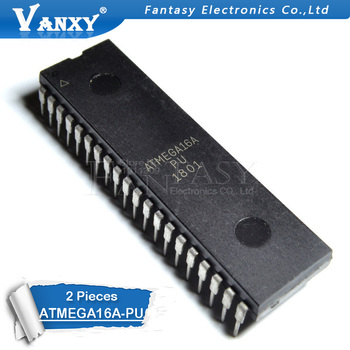 2PCS ATMEGA16A-PU DIP40 DIP ATMEGA16A ATMEGA16 16A-PU DIP-40 - sale item Active Components