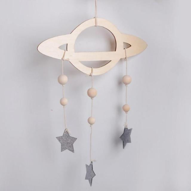 Baby Star Mobile Milky Way Stars Solar System Children S Room Nursery Hanging For Kids Decoration