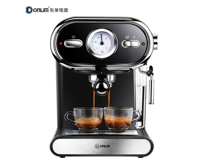 Donlim Espresso Italian Cafe Machine Household Pump Steam