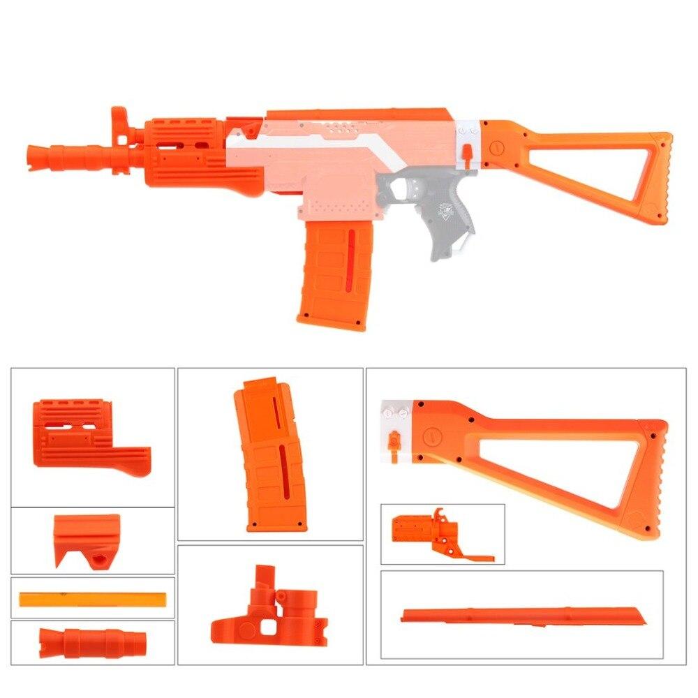 MOD F10555 Imitation Kit 3D Impression Haute Résistance En Plastique Combo Pour Stryfe Modifier Jouet Pour Nerf Pièces Jouets Accessoire Orange