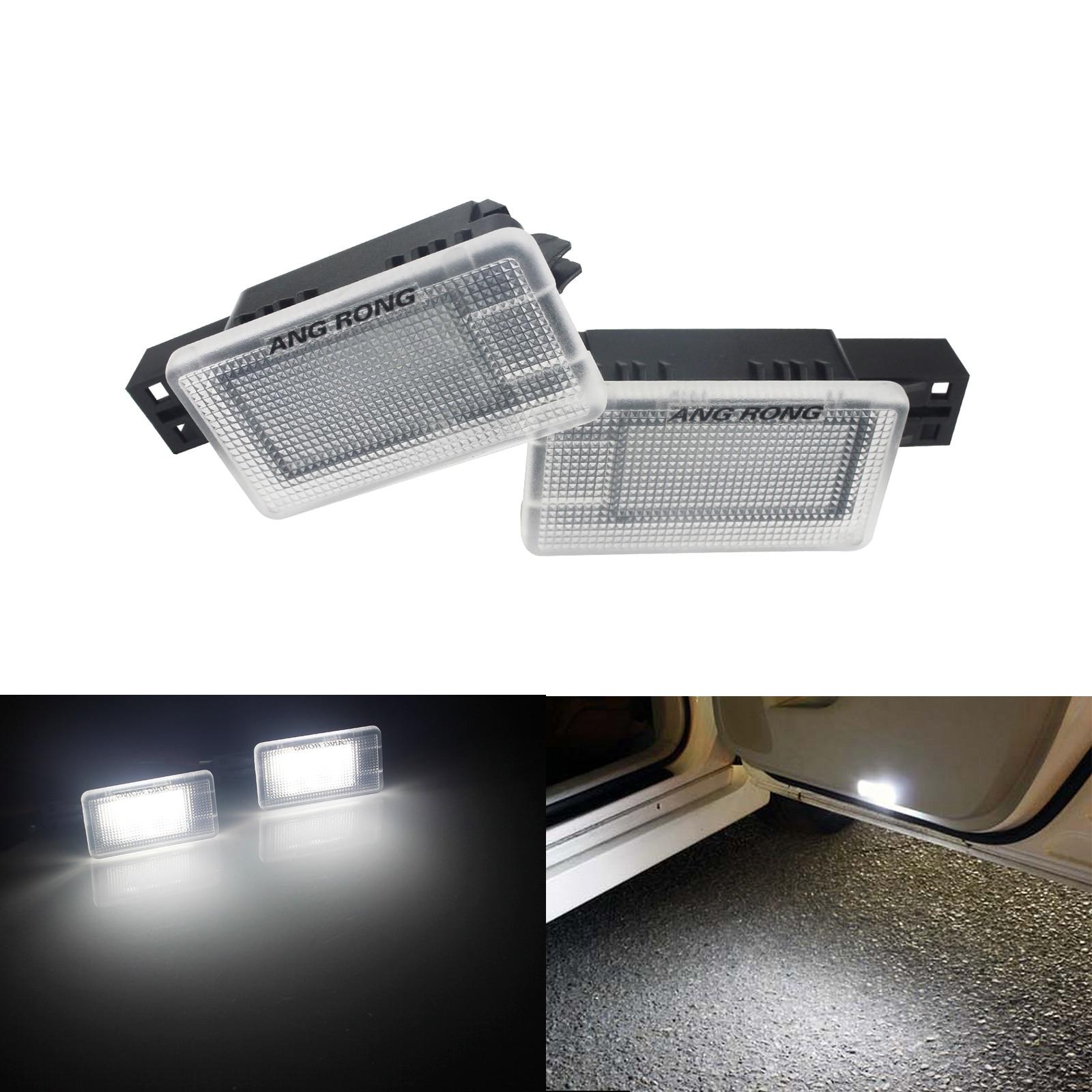ANGRONG Pour Volvo LED Footwell Courtoisie Porte Lumière Latérale Blanc V70 XC70 XC60 V60 V40 S60 S80