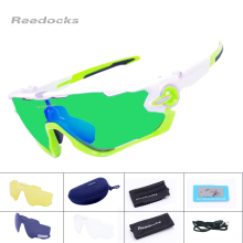 Reedocks 4 Lens Brand NEW Polarized Cycling Sunglasses Mountain Bike Quality Sports Eyewear Road Bicycle Running Cycling Glasses