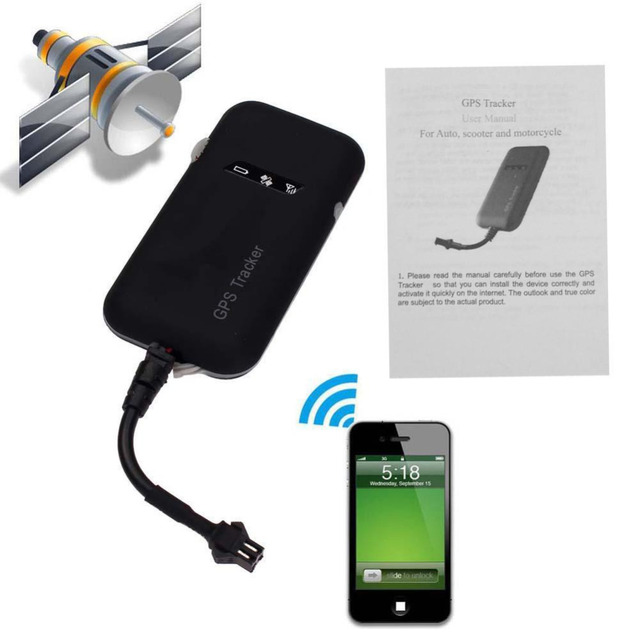 US $13 78 28% OFF|Newest Guaranteed 100% 4 band car GPS tracker GT02A  Google link real time tracking Motorcycle GSM GPS Tracker High Quality-in  GPS
